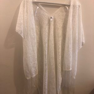 3 summer cardigans (swim cover ups)